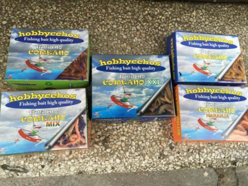 Hobbycebos: tienda de cebo vivo de mar y río para pesca
